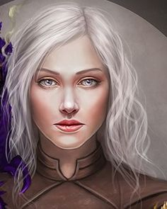 Princess Gael Targaryen was the thirteenth (and youngest) child and sixth daughter of Jaehaerys I and Alysanne. A sweet yet simple-minded girl, she was the favorite of Queen Alysanne. Supposedly died of a summer fever in 99 AC (but she actually committed suicide after a travelling singer seduced her and abandoned her, leaving her pregnant).
