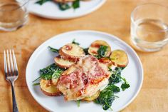 Recipe: Chicken Saltimbocca with Spinach and Potatoes — Recipes from The Kitchn