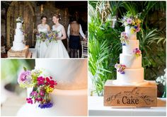 the master cakesmith, wedding cake northumberland, wedding cake newcastle, all you need is love and cake, two brides
