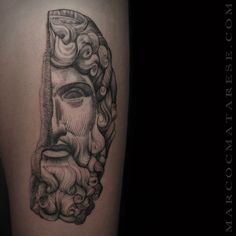 Sculpture. Marco C. Matarese tattoo