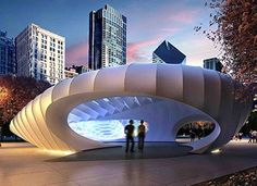 """bean"" type pavilion"