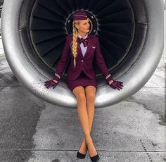 Hot Flight Attendant