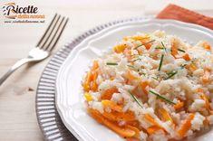 Risotto alle carote ricetta e foto