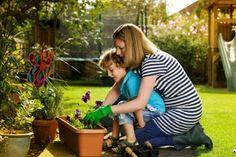 Image result for gardener kneeling
