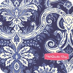 Willow Blue Damask... love this for curtains in my dinning room.