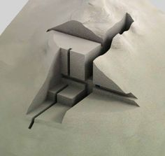 Festim toshi - architectural models architectural бумажная а Model Architecture, Architecture Drawings, Concept Architecture, Landscape Architecture, Architecture Student, Typology Architecture, Geometry Architecture, Maquette Architecture, Architecture Collage
