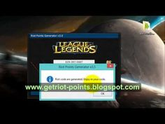 Free League of Legends RP Generator -{Riot Points Hack} - Updated - July 2013