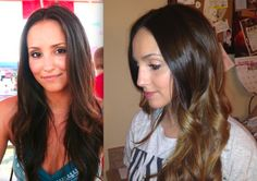 DIY OMBRE HAIR:    How to get ombre hair in 4 easy steps.