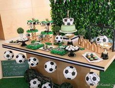 copa do mundo decoração de festa infantil Soccer Birthday Parties, Football Birthday, Sports Birthday, Soccer Party, Sports Party, Dad Birthday, Soccer Baby Showers, Ninjago Party, Football Themes