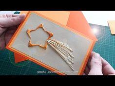 Carte brodée étoile filante en fils tendus – Tuto et gabarit