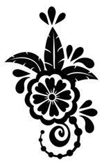 tropical Stencil | tropical henna # henna13 1 stencil $ 0 60 usd 10 stencils $ 5 50 usd ...
