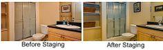 #Bathroom #StagingTips - Leovan Design  #homestaging #realestate