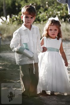 Ring boy & flower girl outfits #1