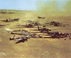 Luta no Ar A Aviação Aliada golpeia sem trégua ( Com Galeria)