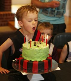 Our little man turned five last week, five! As MJ is a keen Essendon fan we had a Bombers themed footy party - black and red as. Happy 5th Birthday, Birthday Party Themes, Chocolate Dipped Strawberries, Mud Cake, Strawberry Dip, Sausage Rolls, Vanilla Cupcakes, Chocolate Cookies, Little Man