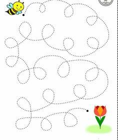 Motor Skills Activities, Preschool Learning Activities, Free Preschool, Preschool Printables, Alphabet Activities, Kindergarten Worksheets, Preschool Activities, Teaching Kids, Preschool Writing