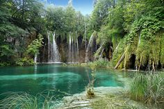 Lake Plitvice in Croatia