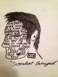 "trent reznor   Tumblr ""Somewhat Damaged"""