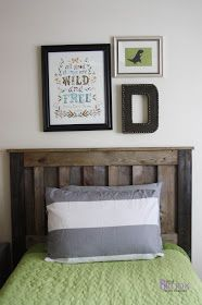 BeingBrook: Leather Wall Letter {Dinosaur Boys Bedroom}