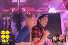 Tom Parker & Kelsey in the club Time + Venue Bar in Cookstown, Northern Ireland