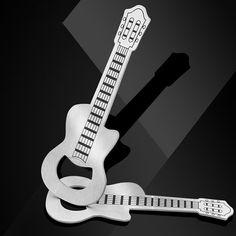 Gift Zinc Alloy Beer Guitar Bottle Opener Key Chain Creative Kitchen  Accessories Key Ring Openers