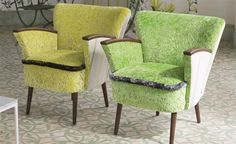 Designers Guild Adelphi Chairs.