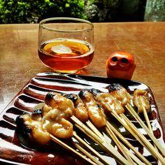 Aburi mochi of Ichiwa #MizumushiKun #Japan #Kyoto #Foods #Sweets #JapaneseFoods #JapaneseSweets #Foodie