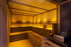 Indulge in the earthy aromas of our sauna!