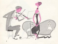 'What makes an orchestra', written and illustrated by Jan Balet,1959.