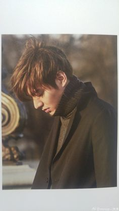 "Lee Min Ho, ""Here, I Was Here, I Am Here"" photobook."