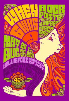 psychedelic poster artist 60s - Google Search