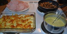Røkt svinekam i ovn Fondue, Mashed Potatoes, Macaroni And Cheese, Ethnic Recipes, Whipped Potatoes, Mac And Cheese, Smash Potatoes