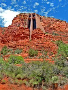 Church of the Holy Cross by Bowman!, via Flickr  Sedona Arizona