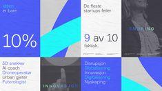 Nyskapingsuka Visual Identity on Behance Identity Design, Visual Identity, Brand Identity, Brochure Design, Corporate Branding, Corporate Design, Branding Ideas, Innovative Logo, Web Design Mobile