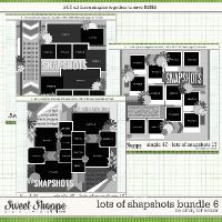 Cindy's Layered Templates - Lots of Snapshots Bundle 6 by Cindy Schneider