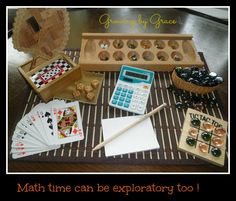 Hands on Math , through discovery play