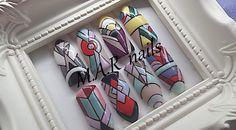 #handpainting #nails #nailswag #nailart #nagai #naguciai #ногти #маникюр #nail #nailsart #ilovenails #fashionnails #cutenails #gel