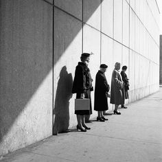 New-York in the 1950s – 42 photographs by Vivian Maier (image)