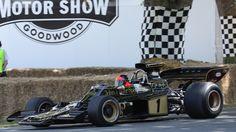 Emerson Fittipaldi  | Emerson Fittipaldi, Lotus-Cosworth 72, Goodwood Festival of Speed ...
