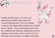 That is sooo me! I don't think there is an attirbute in there that isn't like me!! #i'msylveon!