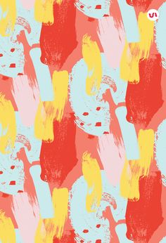 This product is also part of a Bundle, see here Hello, I would like to introduce to you a brand new set of abstract patterns with a splash of color! Cool Patterns, Textures Patterns, Print Patterns, Cute Wallpapers, Wallpaper Backgrounds, Backgrounds Free, Overlays, Pattern Illustration, Vector Pattern