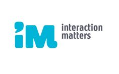 interaction matters, visual identity / logo design, by daily milk