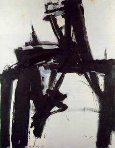 Franz Kline, one of my favorites artists.