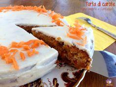 Torta di carote americana - Carrot Cake