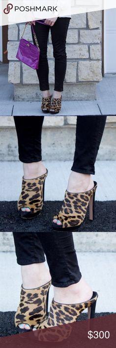 Selling this SALE! Leopard Prada Open-toe Mules on Poshmark! My username is: kimberlyloc. #shopmycloset #poshmark #fashion #shopping #style #forsale #Prada #Shoes