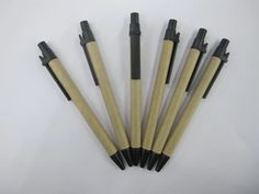 Green ballpoint pen Ballpoint pen made of paper Circle pen and paper
