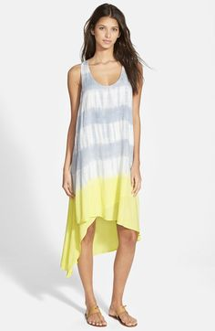 Splendid Tie Dye High/Low Dress available at #Nordstrom