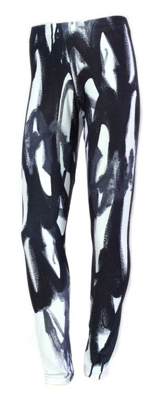black and white magpie leggings // available online at http://shop.meganauman.com/product/magpie-leggings