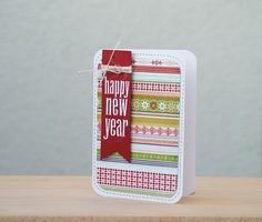 keks made novogodinja estitka handmade new years card