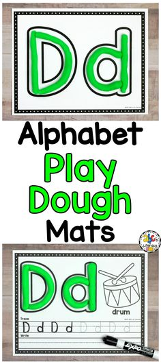 Alphabet Play Dough